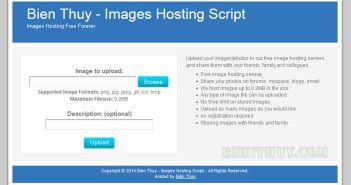 PHP Images Hosting Script