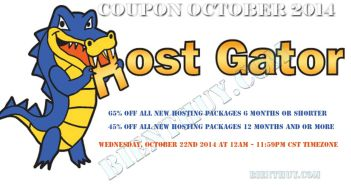 Hostgator Coupon - 65% OFF