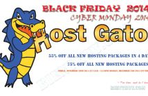 Hostgator Blackfriday and Cyber Monday 2014