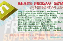 Name Cheap - Black friday & Cyber Monday 2014 Coupon