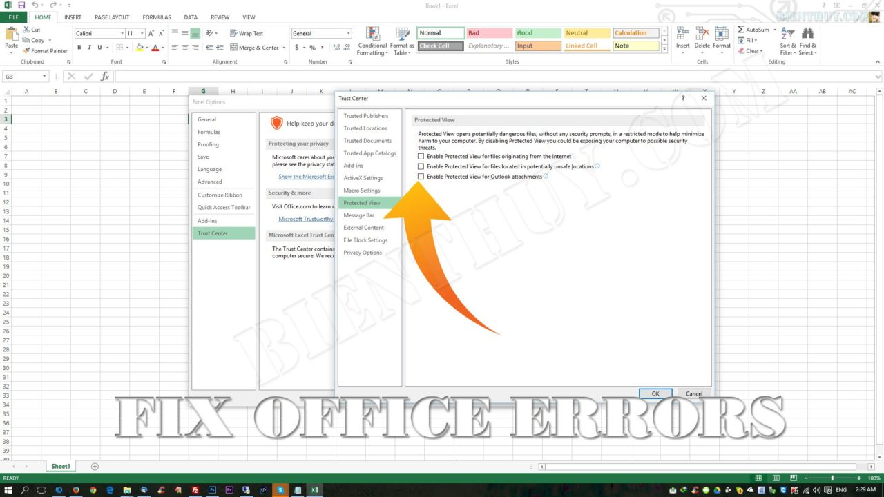 How to fix 'Microsoft Excel cannot open or save any more documents'