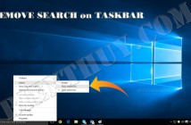 Windows 10 - How to Show Search Icon on Taskbar