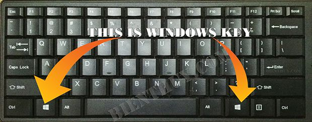 This is Windows Key on your keyboard