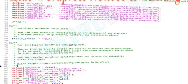 Cách ẩn các thông báo lỗi (Warnings and Notices) trên WordPress
