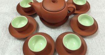 Bộ ấm pha trà Bát Tràng