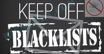 Làm gì khi email bị đưa vào blacklist?