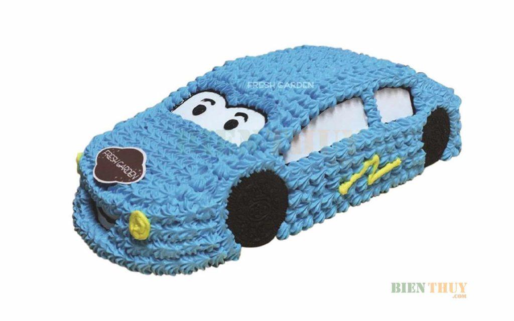 Bánh kem sinh nhật hình ô tô của Freshgarden