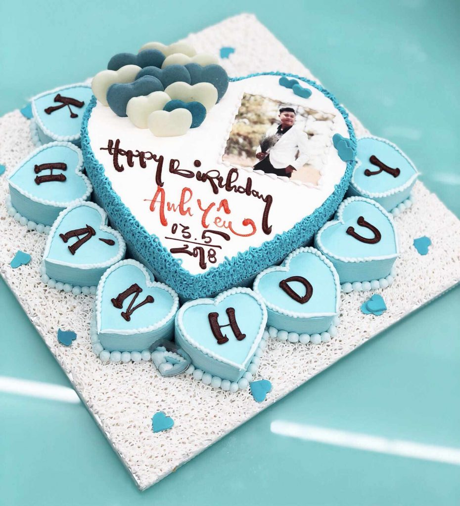 Bánh kem sinh nhật cho cặp đôi yêu nhau