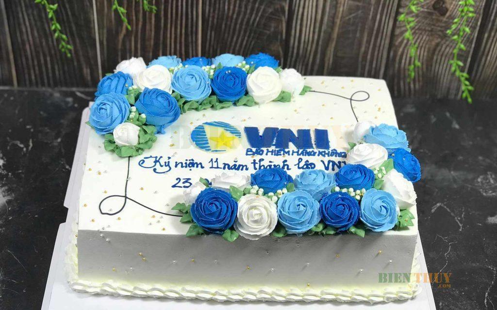 Bánh kem sinh nhật công ty Bảo hiểm hàng không