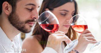 Thử rượu vang