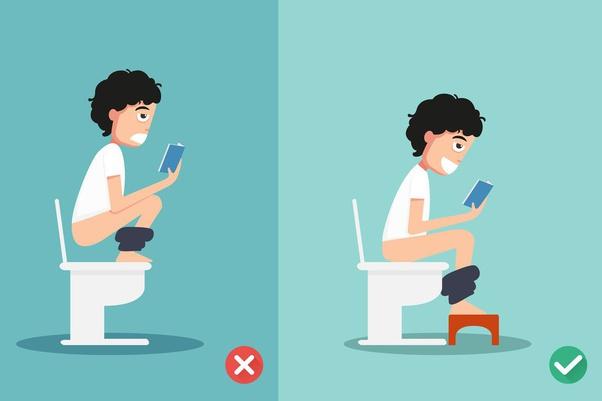 Mẹo vặt trong cuộc sống: Để ghế kê chân khi ngồi đi ị sẽ dễ chịu hơn đấy