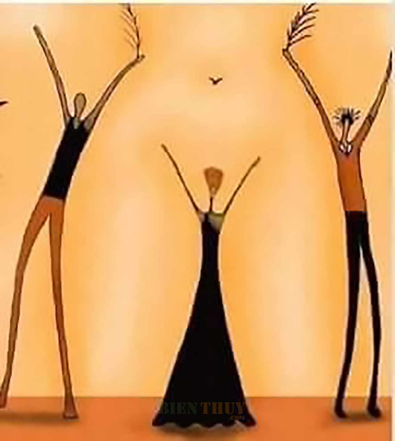 Bức tranh trừu tượng - Hình ảnh hài hước về cuộc sống