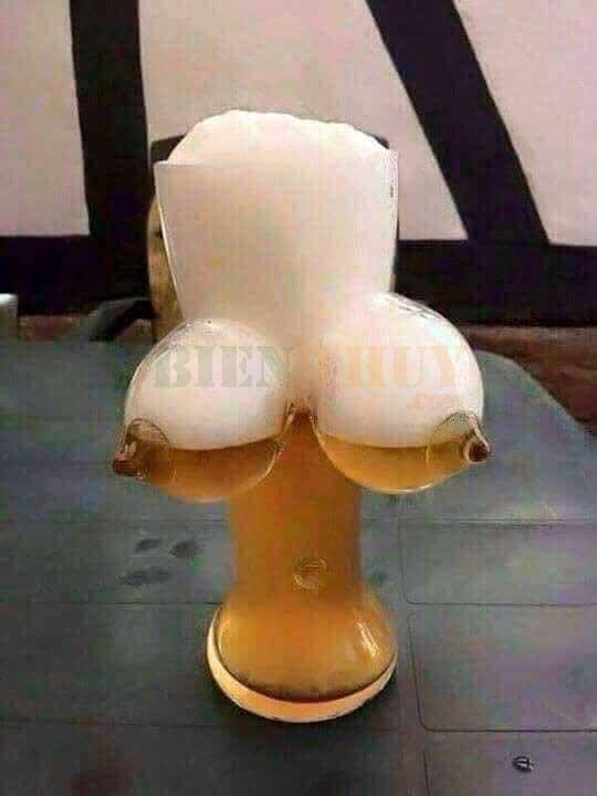 Ly bia của đàn ông - Hình Ảnh vui nhộn